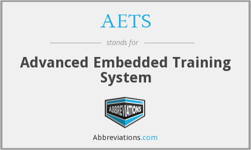 AETS - Advanced Embedded Training System