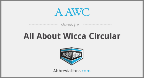 AAWC - All About Wicca Circular