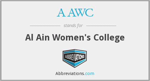AAWC - Al Ain Women's College