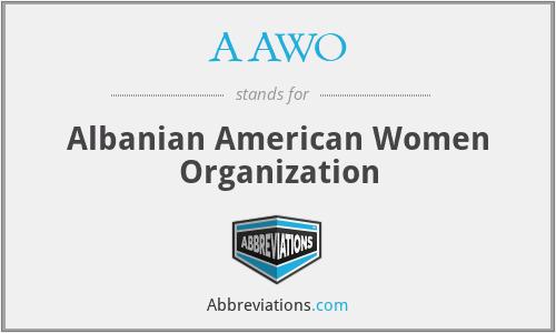 AAWO - Albanian American Women Organization