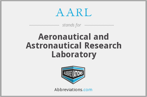 AARL - Aeronautical and Astronautical Research Laboratory