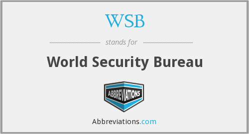 WSB - World Security Bureau