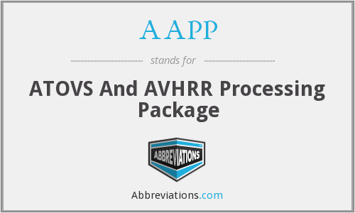 AAPP - ATOVS And AVHRR Processing Package