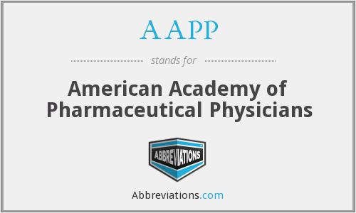 AAPP - American Academy of Pharmaceutical Physicians