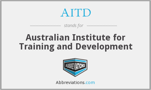 AITD - Australian Institute for Training and Development