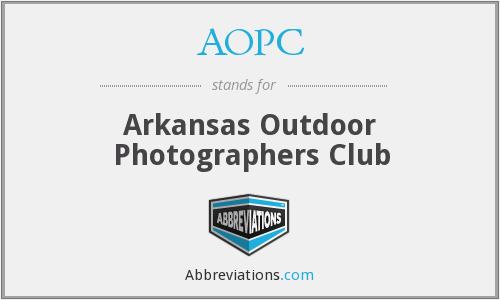 AOPC - Arkansas Outdoor Photographers Club