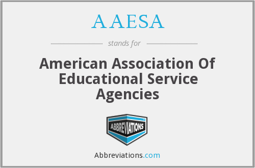 AAESA - American Association Of Educational Service Agencies