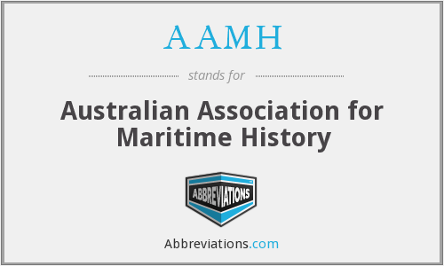 AAMH - Australian Association for Maritime History