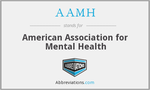 AAMH - American Association for Mental Health