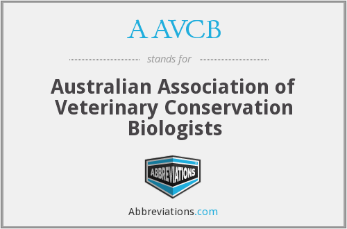 AAVCB - Australian Association of Veterinary Conservation Biologists