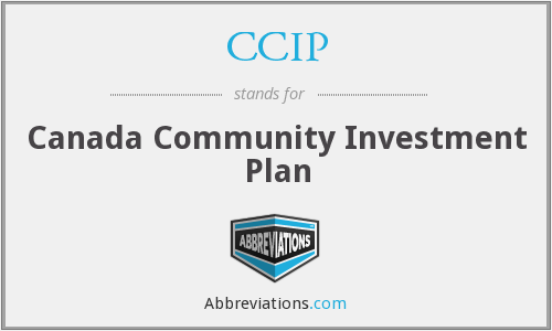 CCIP - Canada Community Investment Plan