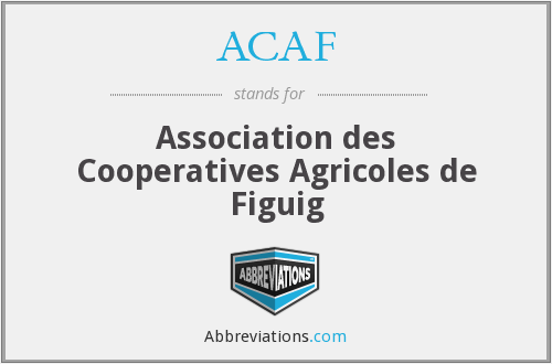 ACAF - Association des Cooperatives Agricoles de Figuig