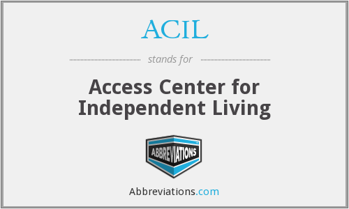 ACIL - Access Center for Independent Living