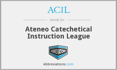 ACIL - Ateneo Catechetical Instruction League