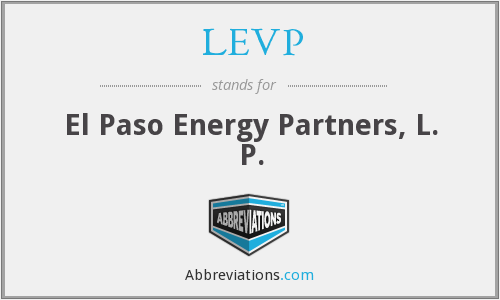 What does LEVP stand for?