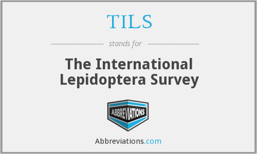TILS - The International Lepidoptera Survey