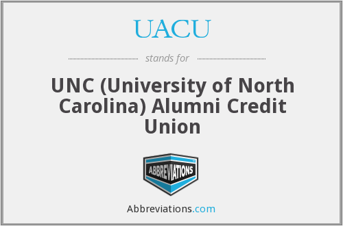 UACU - UNC (University of North Carolina) Alumni Credit Union