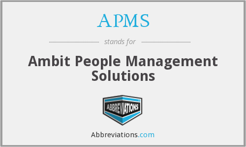 APMS - Ambit People Management Solutions