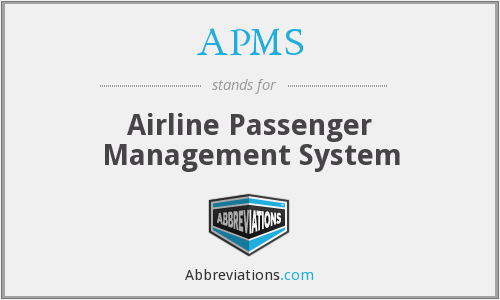 APMS - Airline Passenger Management System