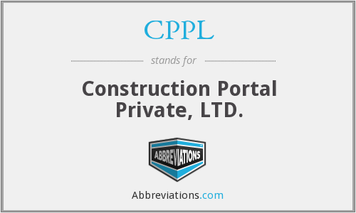 CPPL - Construction Portal Private, LTD.