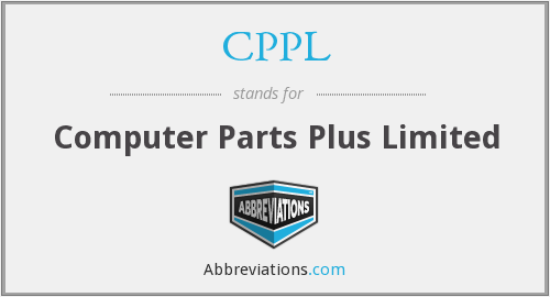 CPPL - Computer Parts Plus Limited