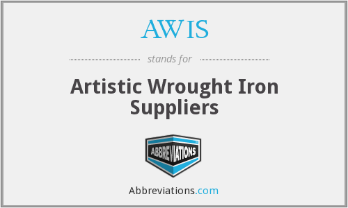 AWIS - Artistic Wrought Iron Suppliers