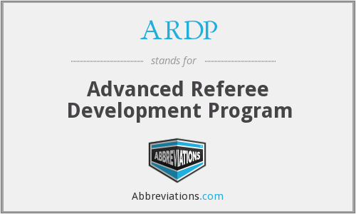 ARDP - Advanced Referee Development Program