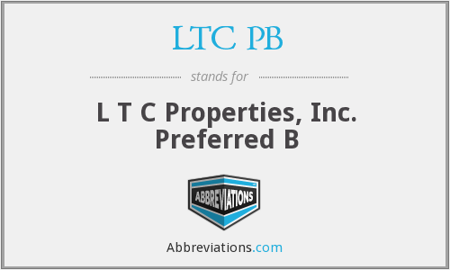 LTC PB - L T C Properties, Inc. Preferred B