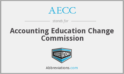 AECC - Accounting Education Change Commission