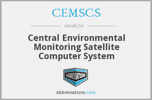 CEMSCS - Central Environmental Monitoring Satellite Computer System