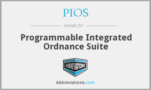 PIOS - Programmable Integrated Ordnance Suite