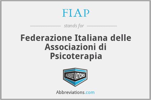 FIAP - Federazione Italiana delle Associazioni di Psicoterapia