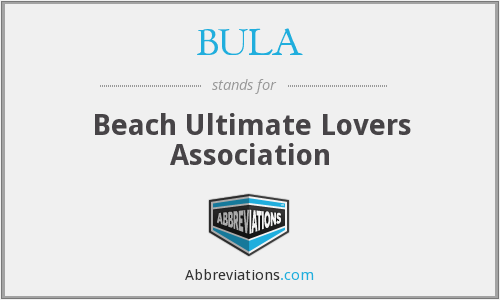 BULA - Beach Ultimate Lovers Association