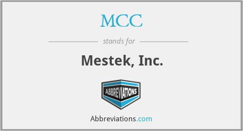 MCC - Mestek, Inc.