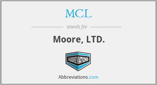 MCL - Moore, LTD.