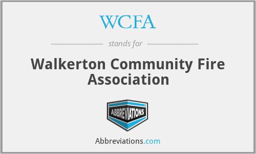 WCFA - Walkerton Community Fire Association