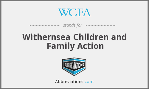 WCFA - Withernsea Children and Family Action