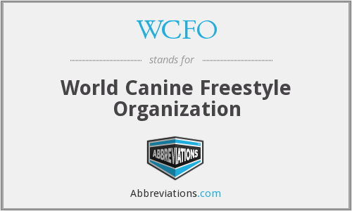 What does WCFO stand for?