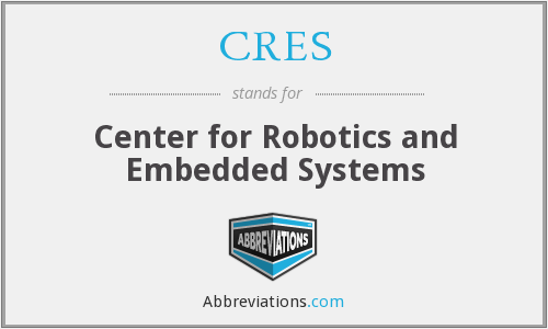CRES - Center for Robotics and Embedded Systems