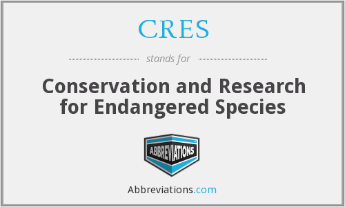 CRES - Conservation and Research for Endangered Species