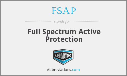 FSAP - Full Spectrum Active Protection