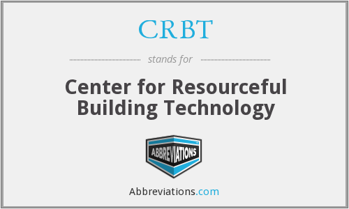 CRBT - Center for Resourceful Building Technology