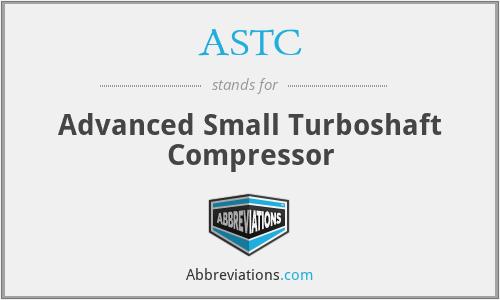 ASTC - Advanced Small Turboshaft Compressor