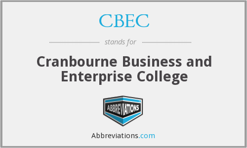 CBEC - Cranbourne Business and Enterprise College