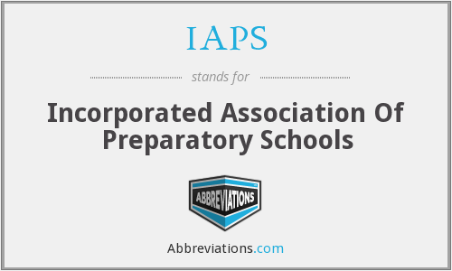 IAPS - Incorporated Association Of Preparatory Schools
