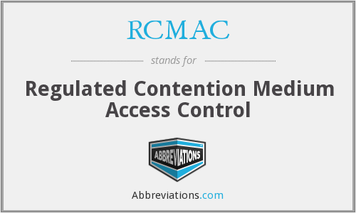 RCMAC - Regulated Contention Medium Access Control