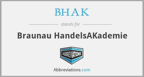 BHAK - Braunau HandelsAKademie