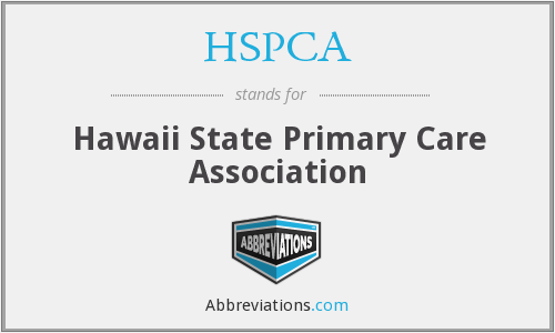 HSPCA - Hawaii State Primary Care Association