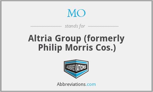 MO - Philip Morris Companies, Inc.