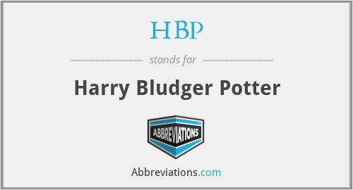 HBP - Harry Bludger Potter